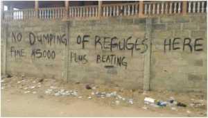 Check Out This Hilarious Warning At A Lagos Church